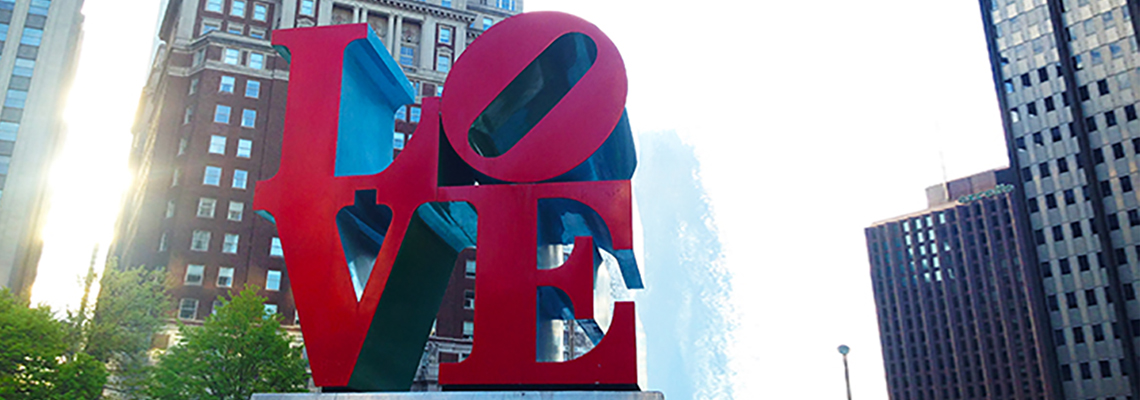 Philadelphia Travel - Love Statue