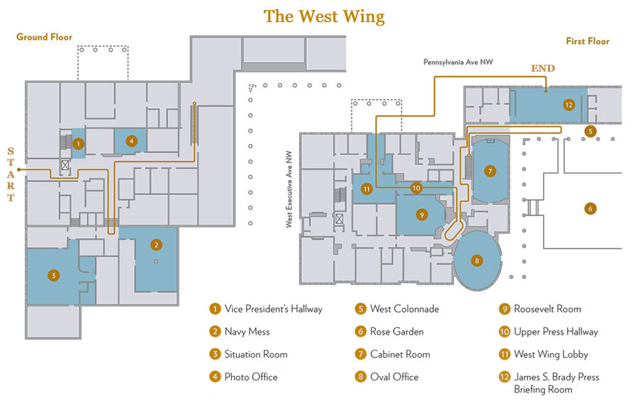 oval office layout. so, to orient yourself: obviously the president