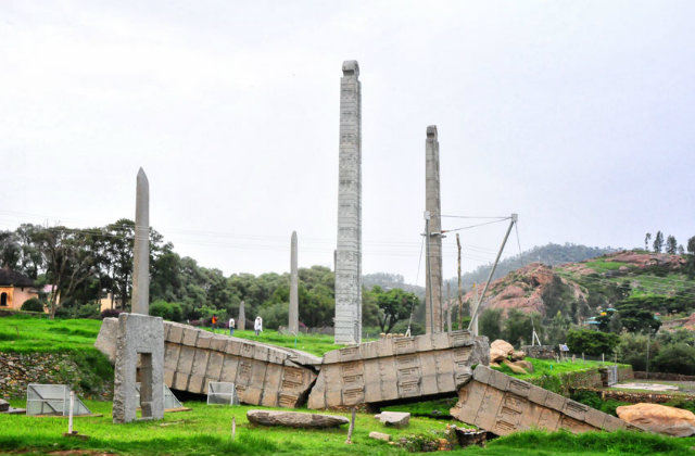 Aksum is an Ethiopia tourism destination
