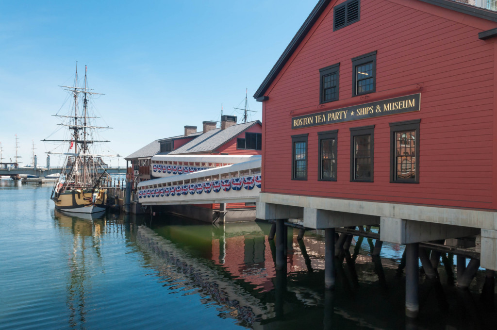 Boston Tea Party Ships & Museum is one of the best Boston museums. Image source: Flickr