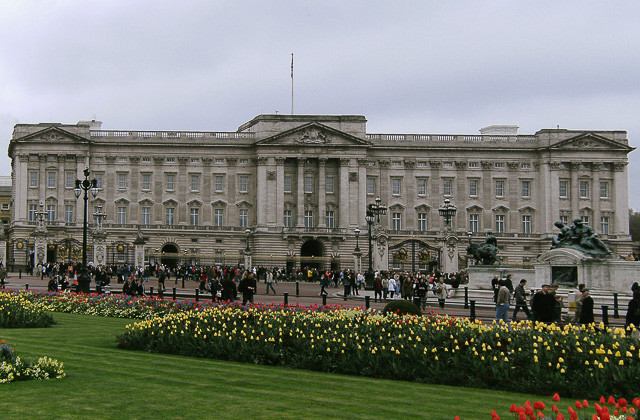 London attractions of Buckingham Palace