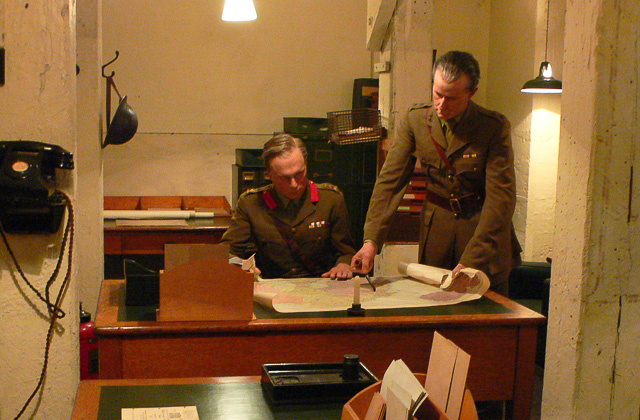 London museums of Churchill War Rooms