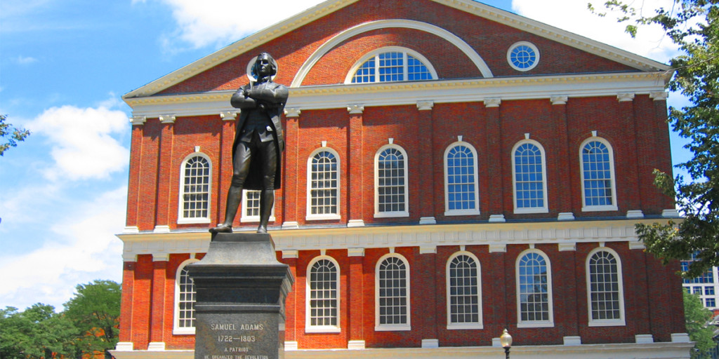 Faneuil Hall on the Freedom Trail in Boston
