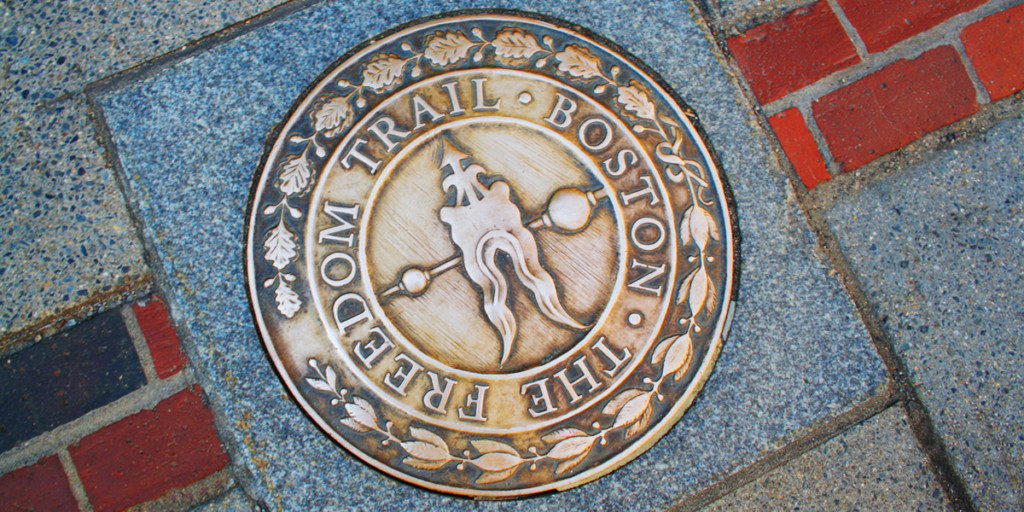 Freedom Trail in Boston is one of the things to do in Boston