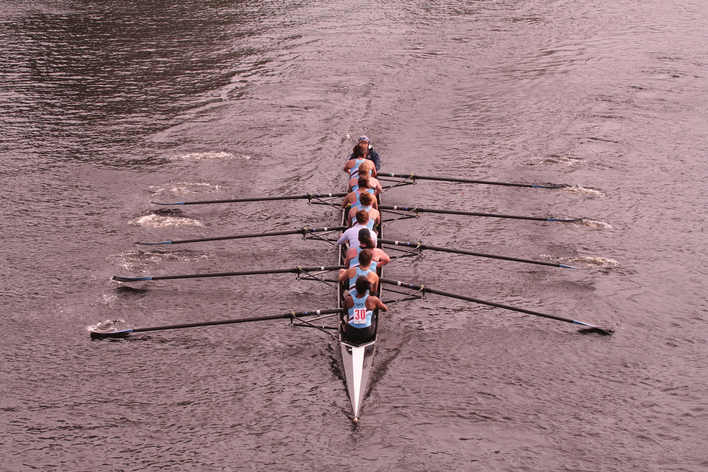 Head of the Charles Regatta in Boston is one of the things to do in Boston