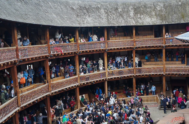 London attractions of Shakespeare's Globe Theatre