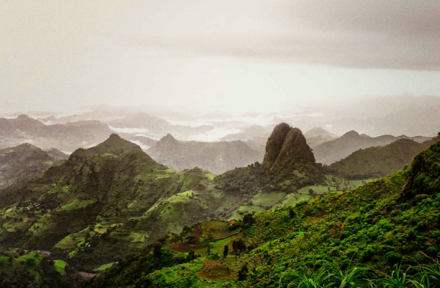 Simien Mountains are an Ethiopia tourism destination