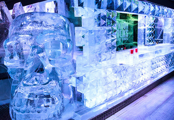 London restaurants and bars of Ice Bar