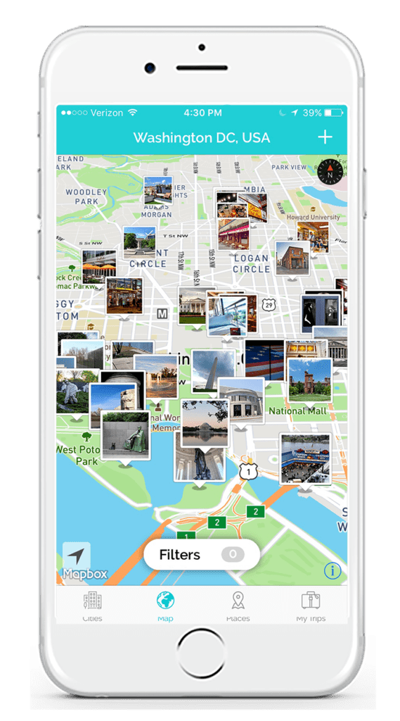 TripScout travel app and city tour