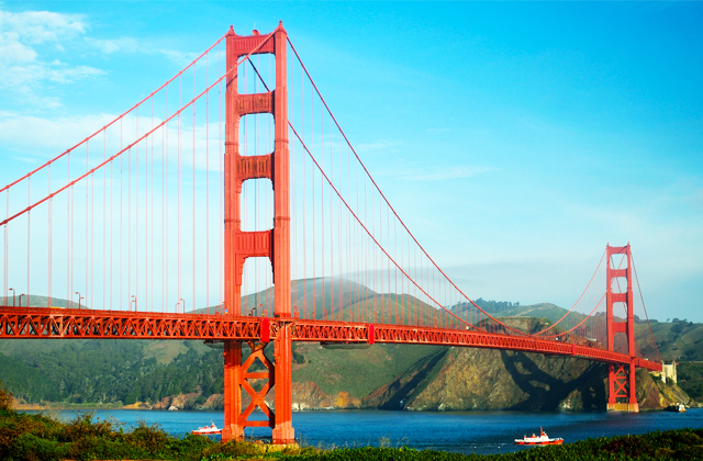 San Francisco Quotes - Twin Peaks - Palace of Fine Arts - Golden Gate Bridge