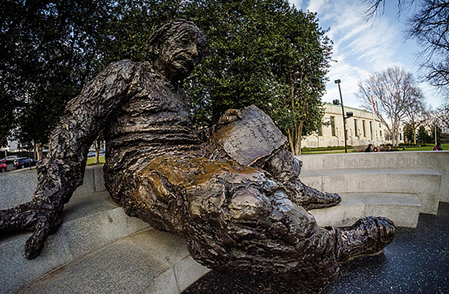 Washington DC Monuments - Albert Einstein Memorial