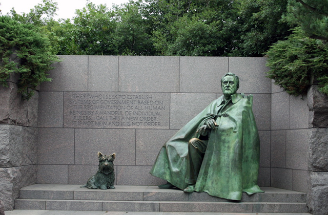 Washington DC Monuments - FDR Memorial