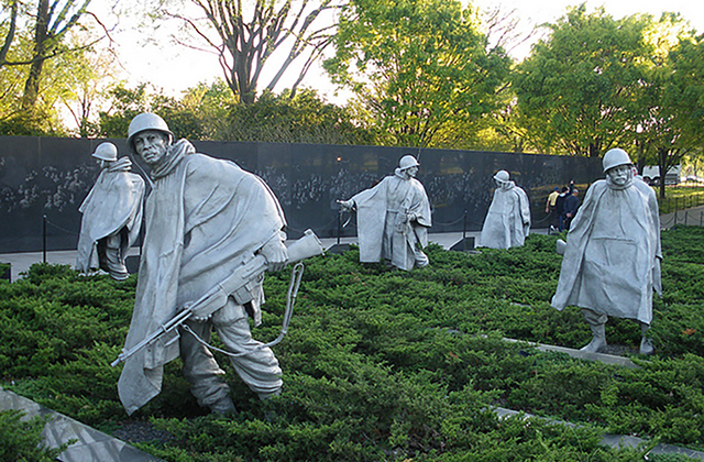 Washington DC Monuments - Korean War Memorial