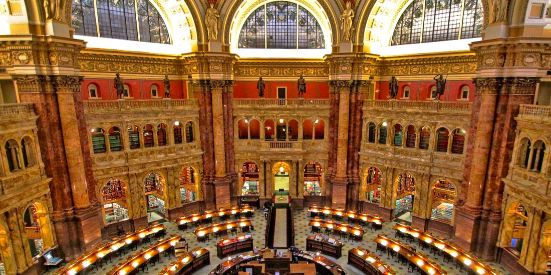 Library of Congress Tours of Main Reading Room