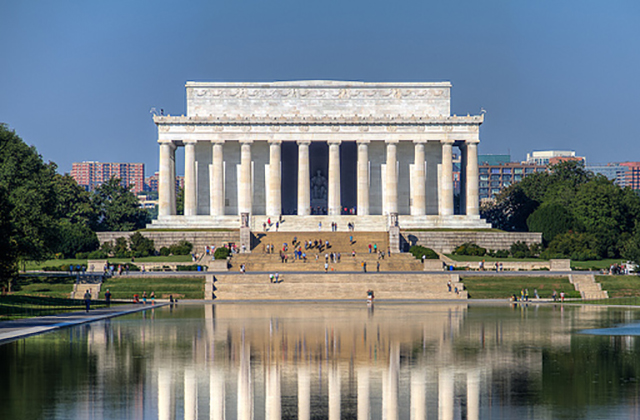 Washington DC Monuments - Lincoln Memorial