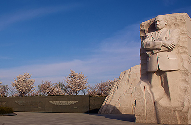 Washington DC Monuments - MLK Memorial