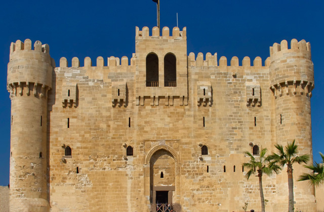Alexandria Egypt Tour - The Citadel of Qaitbey