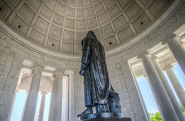 Washington DC Monuments - Jefferson Memorial