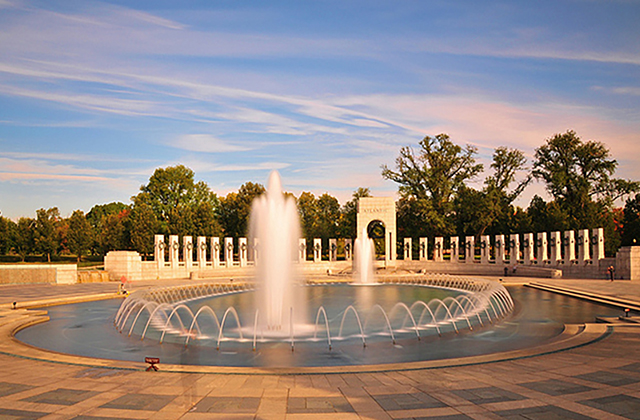 Washington DC Monuments - World War 2 Memorial
