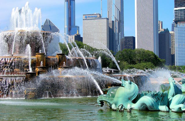 Things to do in Chicago - Buckingham Fountain