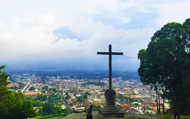 things to do in Antigua Guatemala - views