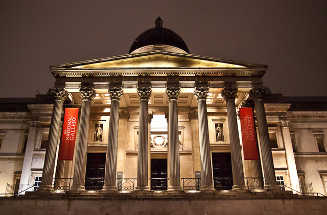 London museums of National Gallery