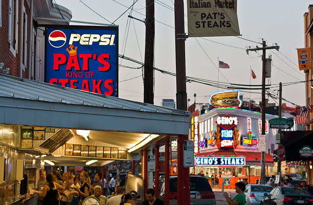 Best Restaurants in Philadelphia - Philadelphia Cheesesteaks (Pat's & Geno's)