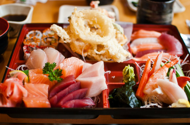Sushi at the best restaurant in Boston. Image source: Flickr