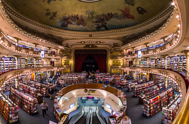 Things to do in Buenos Aires - El Ateneo Bookstore