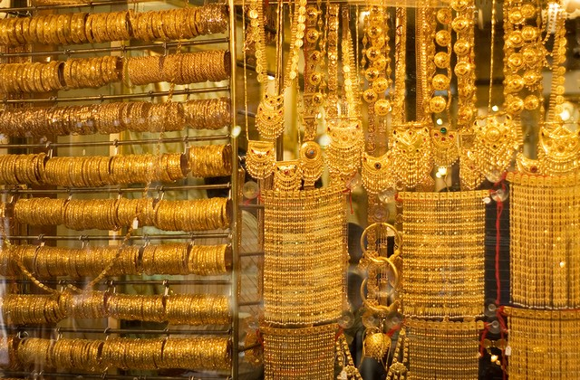 Places to visit in Dubai - Old Gold Souk